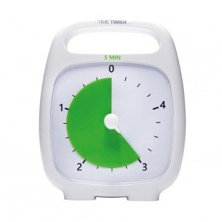 Time timer plus – 5 minutos blanco